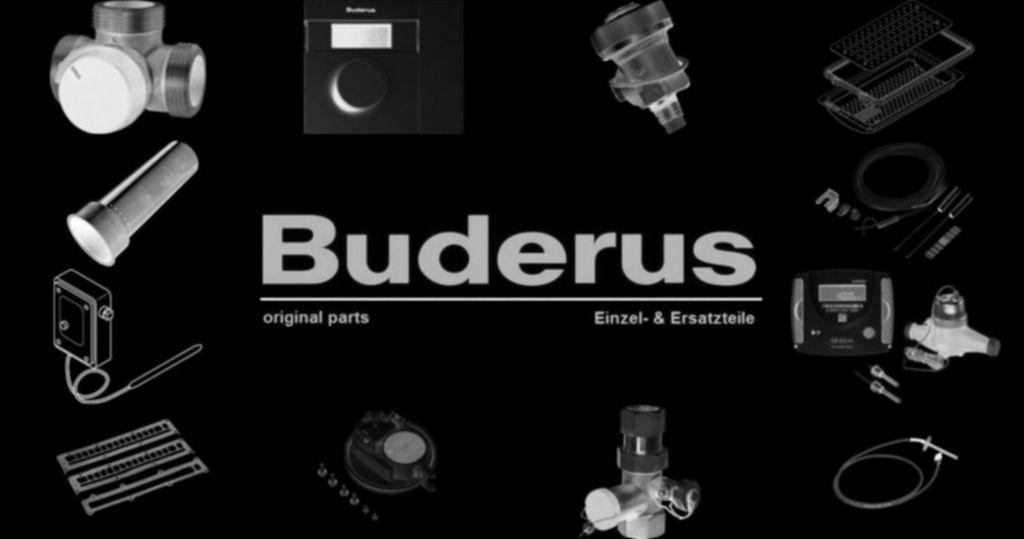 Buderus 8718589164 Abdeckung für Anode RAL9016 everp (2x)