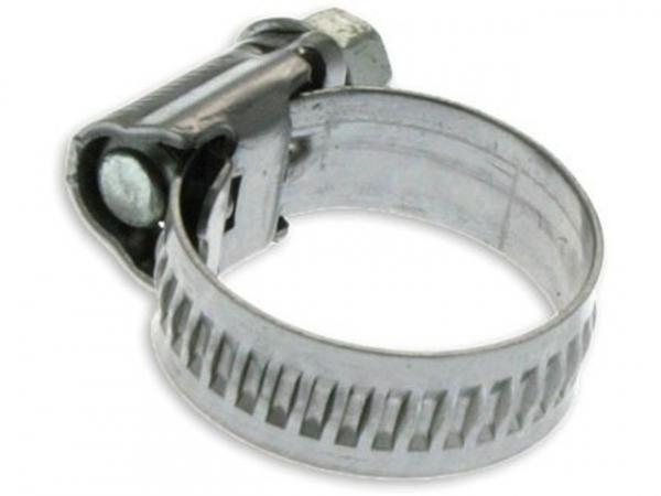 Schlauchschelle aus Edelstahl 1.4016 40 bis 60 mm