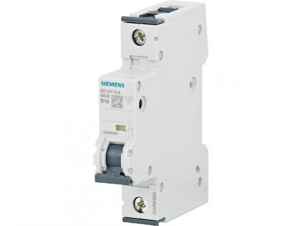 Leitungsschutzschalter 230/400V 10KA, 1-polig, B, 16A, T=70mm 1 Stück