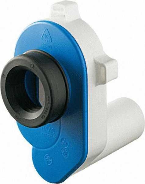 PE-Urinal-Absaugsifon Abgang waagrecht für 50mm Rohr