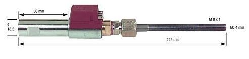 Ölvorwärmer für Körting jet4,5/ 8, 5/VT1-DU/0-DU mit Danfoss-Ölvorwärm