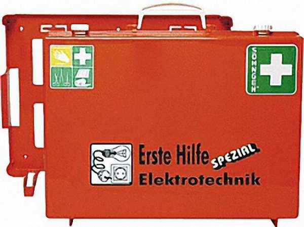 Verbandskasten Erste Hilfm spezial für Elektrotechnik Maße: 400 x 300 x 150mm