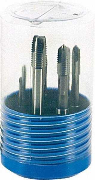 Setverpackung Typ BlueBox mit Maschinengewindebohrern HSSG Form B, M 3 - M 12