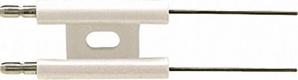 Doppel-Zündelektrode Universal 6,3mm, Draht gerade 40mm passend für MEKU-Mischeinreichtung