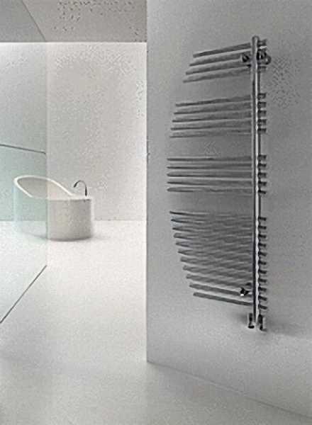 Design-Heizkörper Farbe: chrom Größe: 1250x500mm