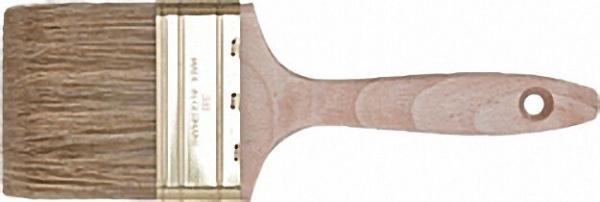 Pr. Flachpinsel 50mm Orel-Mix-Borste, Messingblech