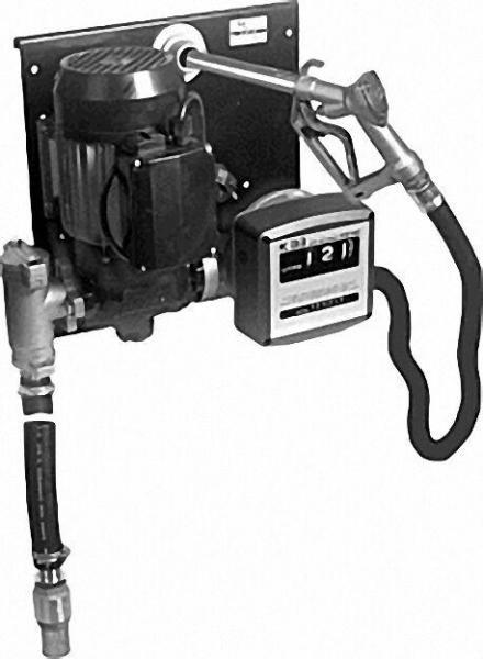 Diesel und Heizöltankstation Typ ST E 80 K 33