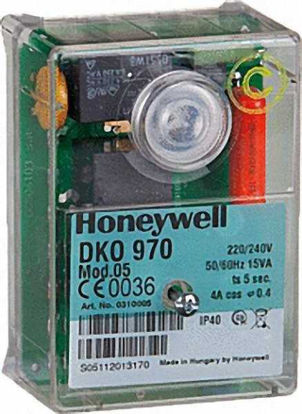 HONEYWELL Relais Satronic DKO 970 Mod,05