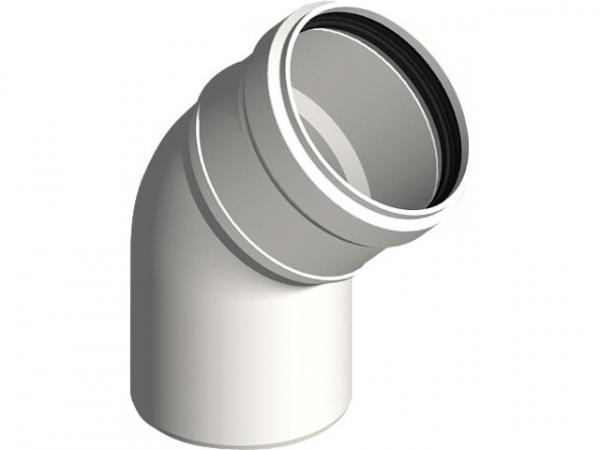 Kunststoff-Abgassystem Bogen 45° - DN 110