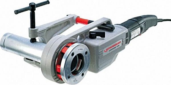 Elektro-Gewindschneidkluppe BSPT R Supertronic 2000-Set