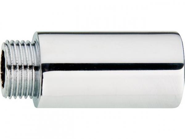 LUX Hahnverlängerung Messing verchromt, DN15 (1/2'')x10mm