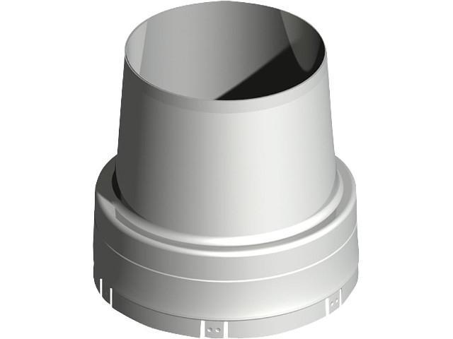 Doppelwandiges Abgassystem Mündungsabschluss DN 150