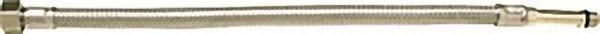 Verbindungsschlauch flexibel 3/8'' Ü-Wurfmutter x M 8, 500mm, langer Gewindenippel