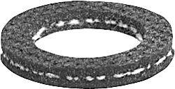 Gummi-Waschmaschinen-Anschlussdichtung Größe 1/2'', 12 x 23 x 3mm einzeln