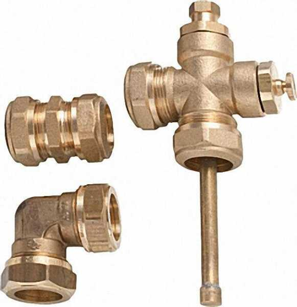 Kollektor-Anschluss und Verbinder-Set für 2 SUNEX Kollektoren
