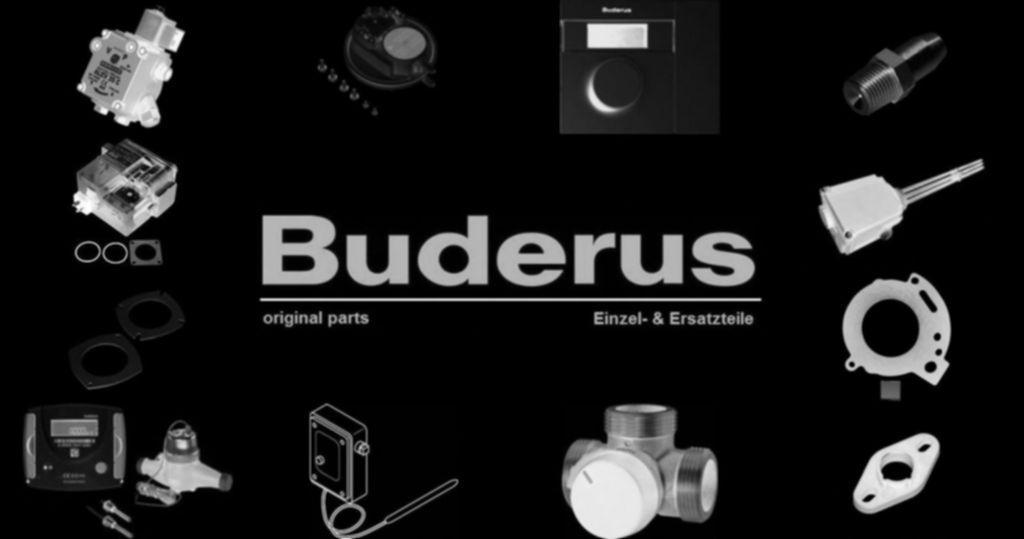 Buderus 5584309 Rohrgruppe G114V Rückschlagventil 1