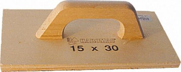 Schleifbrett Holz/P16 30 x 15cm