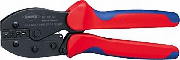 Crimpzange PreciForce verwendbar für unisolierte offene Steckverbinder Länge 220mm 0, 1-2,5mm²