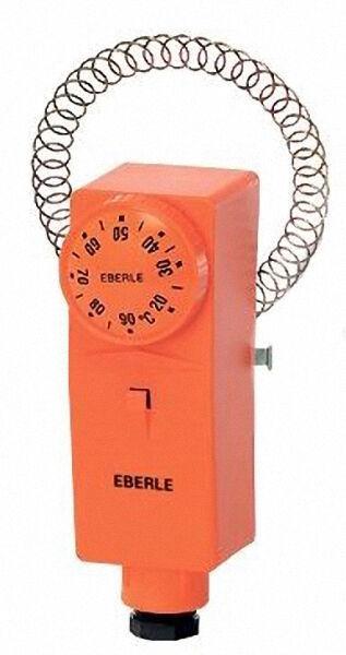 EBERLE 87501 0001 000 Rohranlegethermostat Typ RAR 875 01 mit Außenskala