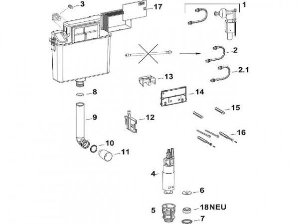 Ablaufventildichtung A31/B31