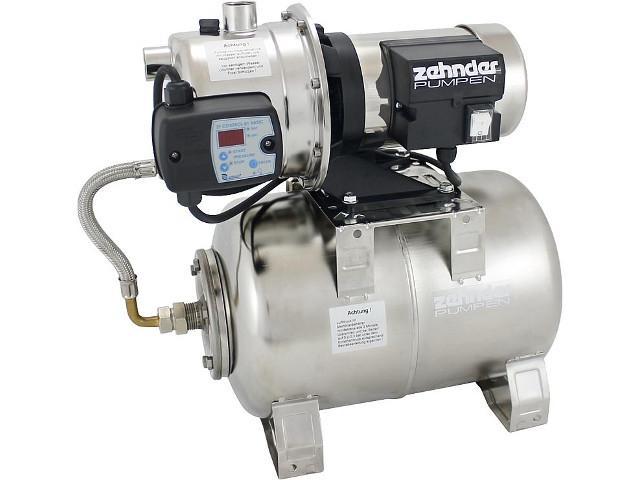 Hauswasserwerk Zehnder EPA 11-3 E mit Druckschalter ZPC01B u.Edelstahl