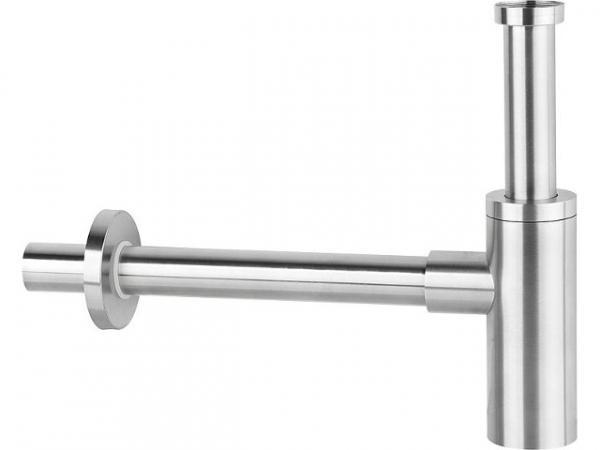 "Design Siphon DN32 (11/4""), Edelstahl matt"