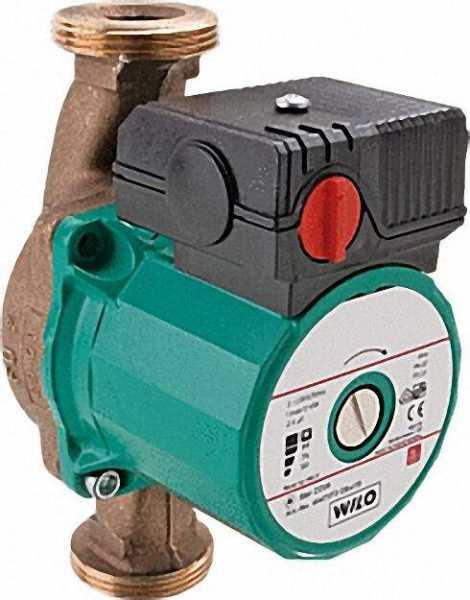 WILO 4047573 Trinkwarmwasser-Zirkulationspumpe Star-Z 25/6-3 BL 180mm 1'' 230 V