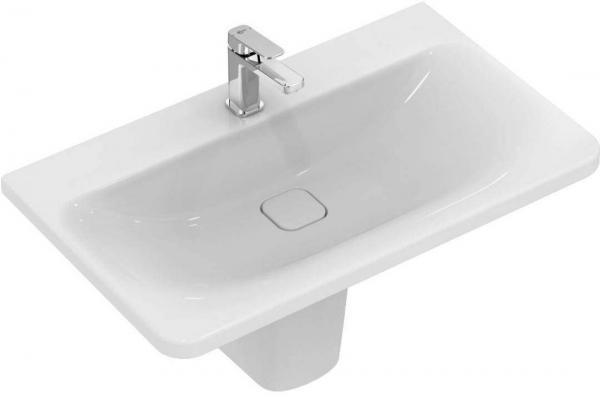 IDEAL STANDARD K087901 Tonic II Waschtisch 80x 49 cm, weiß, ohne Überlauf