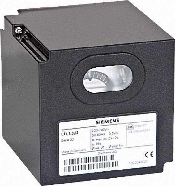 L & G Gasfeuerungsautomat lfm 1.638