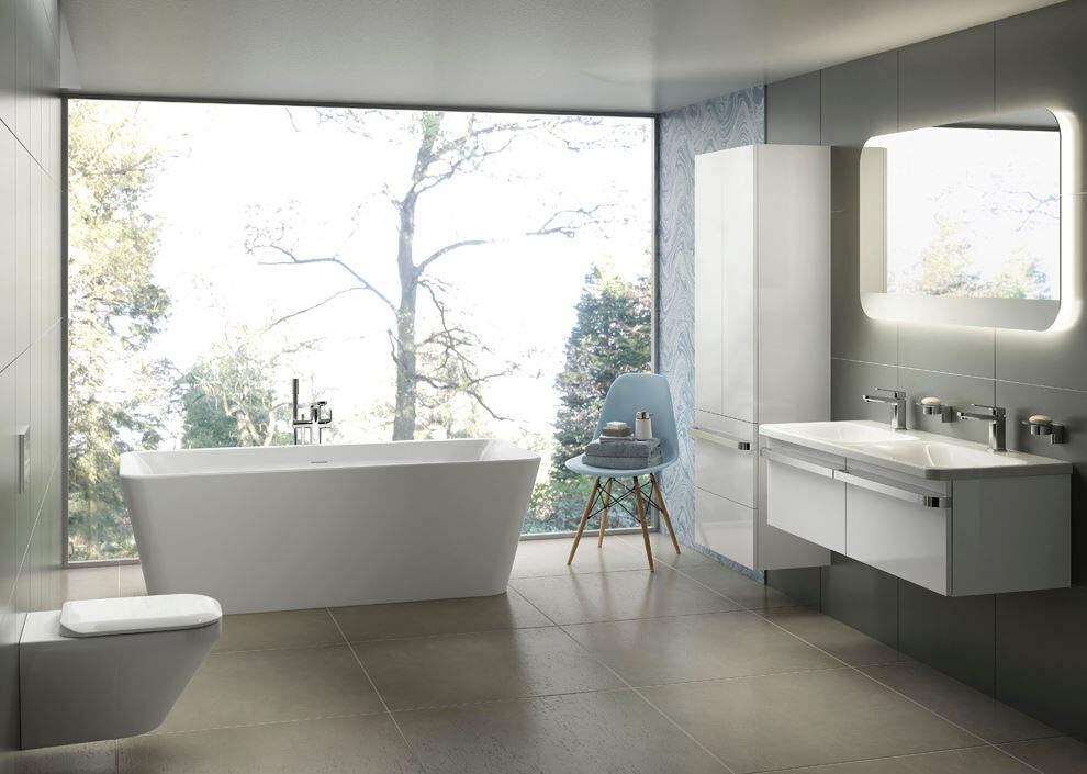 ideal standard tonic ii doppelwaschtisch weiss 120 x 50 cm ohne ueberlauf. Black Bedroom Furniture Sets. Home Design Ideas