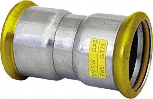Edelstahl-Pressfitting Gas Muffe, DN 108