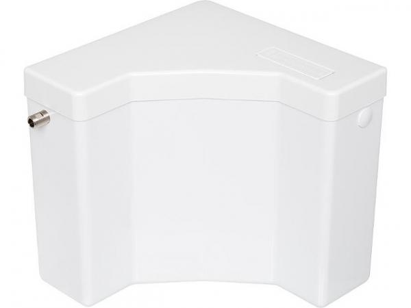 Evenes Aufputz Spülkasten mit 2-Mengen Spülung in weiss