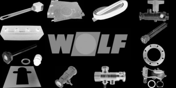 WOLF 2600526 Bausatz verstellbare Wandkonsoleaus Edelstahl