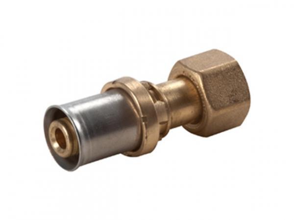 Giacomini RM179SP Pressfitting-Adapter für Mehrschichtverbund- und Kunststoffrohre