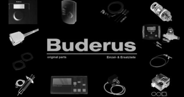 Buderus 5181960 Zündgasleitung DA4 MBDLE 407 59lg li