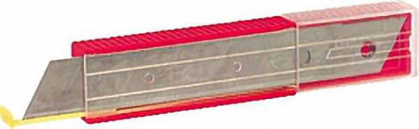 Abbrechklingen 18mm Kunststoffspender (10 Stück)