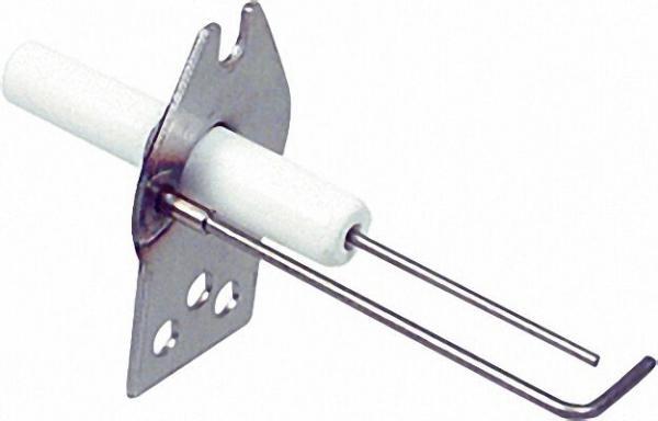 Zündelektrode für Honeywell Q375A1005 Anschluss Flachstecker 2, 8mm