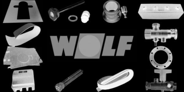 Wolf Verschlußklappe Dachsockel hoch für DV-2-225