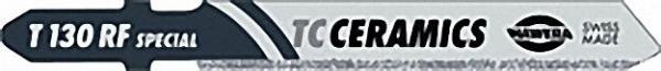 Stichsägeblatt, Fliesen/ Keramik Zahnteilung Korn 30 x 59mm TC-Ceramics T 130 RF