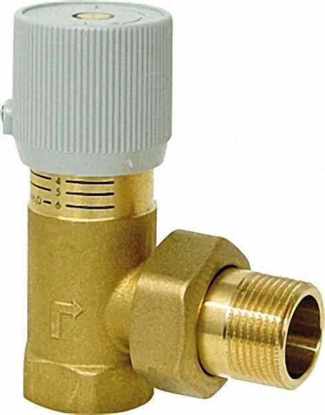 Differenzdruck-Überströmventil ''Strömcal'' kompakt Typ 519 3/4''