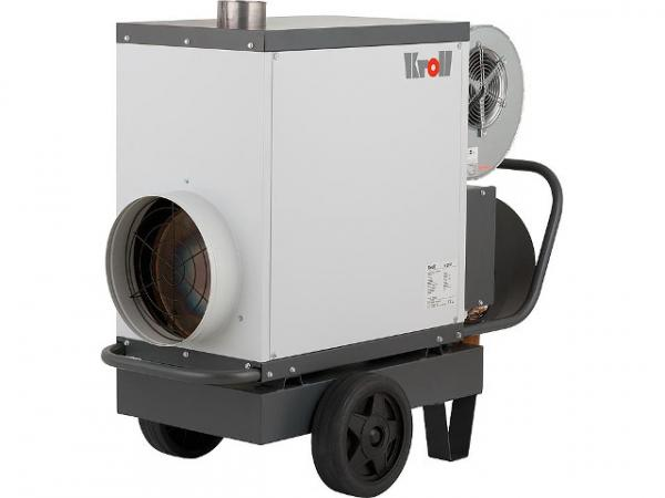 KROLL Mobiler Warmlufterzeuger M50 mit Ölbrenner