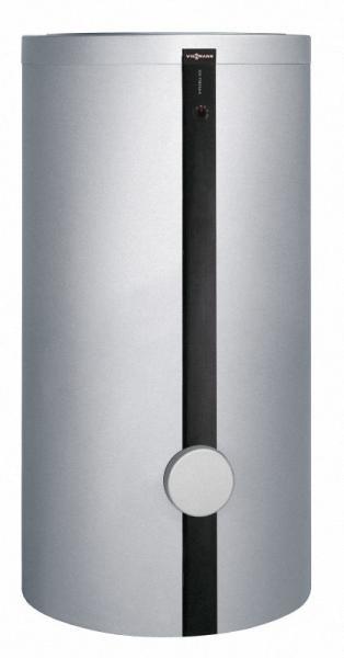VIESSMANN Z002885 Vitocell 100-V 390 Liter Speicherinhalt, Typ CVW, vitosilber