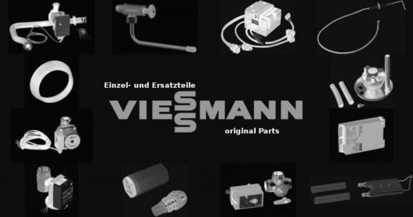 VIESSMANN 7829187 Schlauch 1 1/2 mit Bogen 584 mm