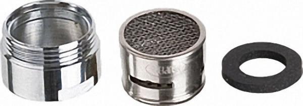 Design-Strahlregler mit Sonder- gewinde - M18 x 1 AG, D = 18,6mm EINZELN