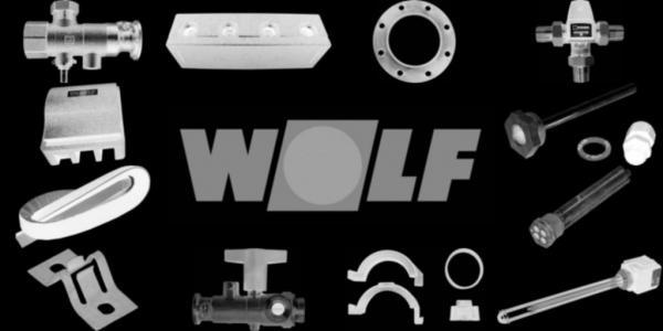 WOLF 8906951 Verkleidung komplett mit Isolierung,Weiß