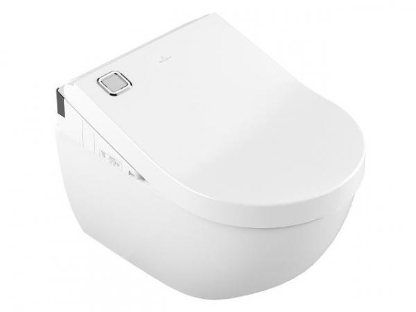 Dusch-WC Set V&B Dusch-WC-Sitz Viclean-U und Wand-Tiefspül-WC Subway 2.0