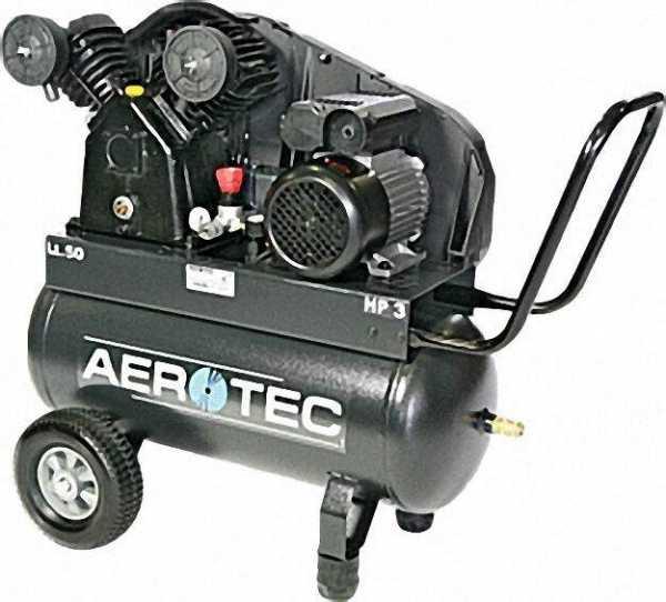 AEROTEC Kompressor mit Keilriemen Aero 450-50 CT 3-230 V
