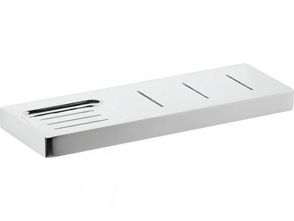 Ablagekonsole+Seifenablage Erma L=300mm Messing verchromt inkl. Befestigung
