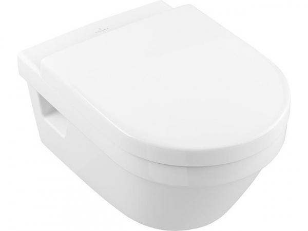 Combi-Pack V&B Architectura Wand-Tiefspül-WC Design+WC-Sitz mit Softclose, weiß