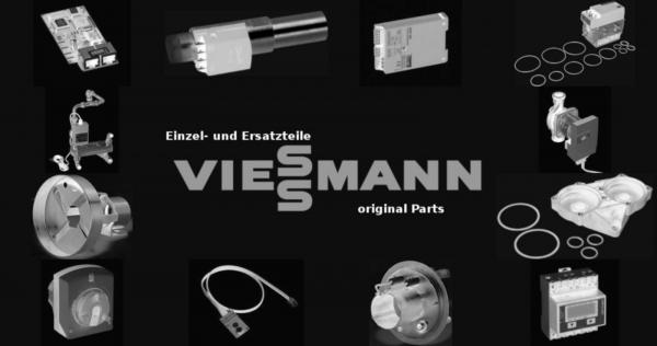 VIESSMANN 7836190 Flanschhaube Vitosilber